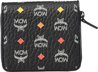 MCM Mens Spektrum Visetos Zipped Wallet Mini