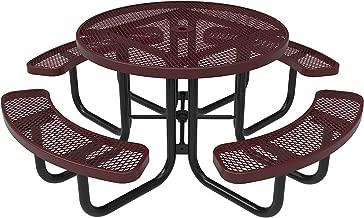 green egg stainless steel table
