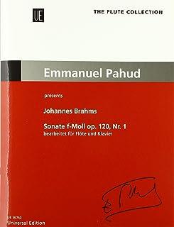 Sonate f-moll op 120, Nr. 1: Emmanuel Pahud presents Johannes Brahms