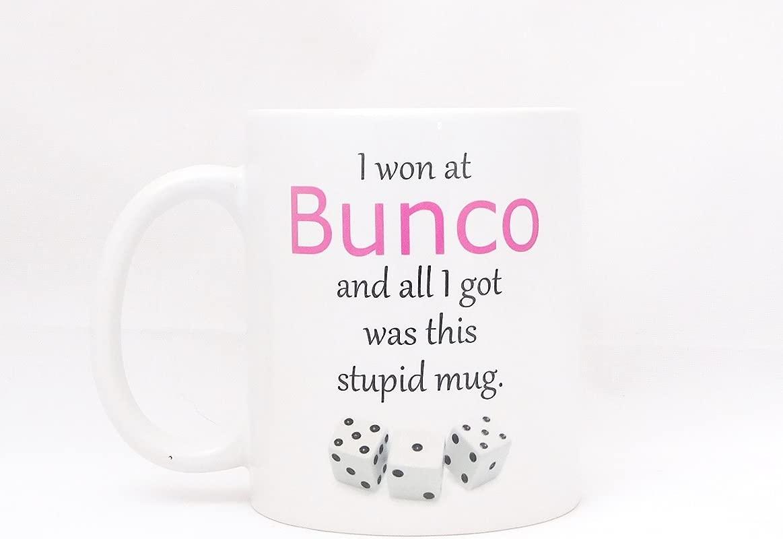 Bunco Night Coffee Mug Funny Bunco Gift Hostess Gift Giveaway