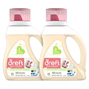 Dreft Purtouch Baby Liquid Laundry Detergent, Hypoallergenic for Baby, Infant or Newborn, 40 Fl. Oz (Pack of 2) (Packaging May Vary)