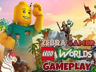 Clip: Lego Worlds Gameplay - Zebra Gamer