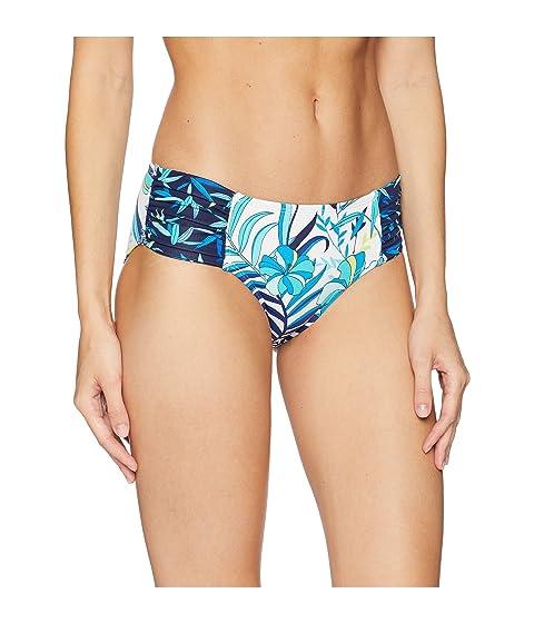 alta Tropical cintura Tommy con cintura ancha blanco Bahama de Hipster qO5pwpxAI