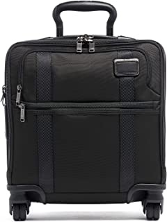 TUMI - Merge Small Compact 4 Wheeled Carry-On Luggage - 16 Inch Rolling Suitcase - Black