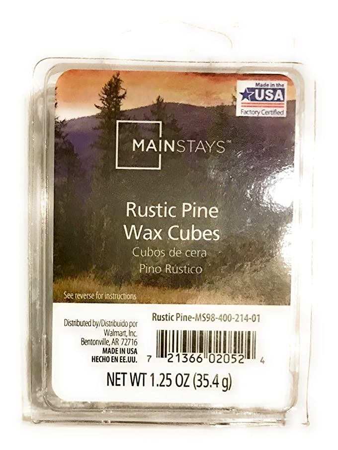 Mainstays Rustic Pine Wax Cubes