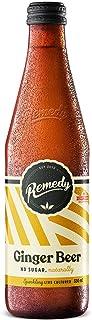 Remedy Organic Live Cultured Soda Ginger Beer Bottle, 330 ml