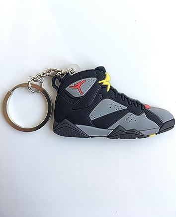 27b0a785bd8a5e Jordan Retro 7 Bordeaux Sneaker Keychain Shoes Keyring AJ 23 OG