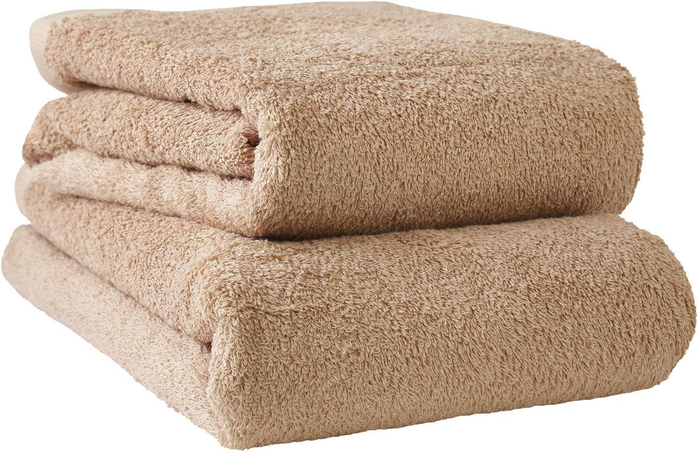 hiorie Japan Towels - 4 Set Max 41% OFF 23.6x51.1 Mocha store Bath Piece