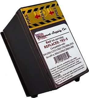 Pitney Bowes Compatibe 793-5 Red Ink Cartridge for P700, DM100i, DM125i, DM150i, DM175i, DM200L, DM225 Postage Meters