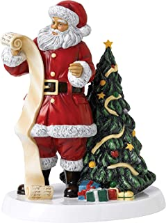 Royal Doulton Annuals 2018 Santa's Christmas List 9.4
