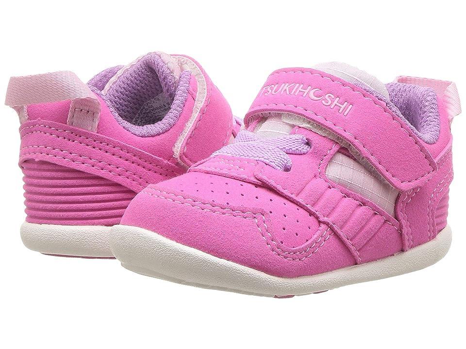 Tsukihoshi Kids Racer (Infant/Toddler) (Fuchsia/Pink) Girls Shoes