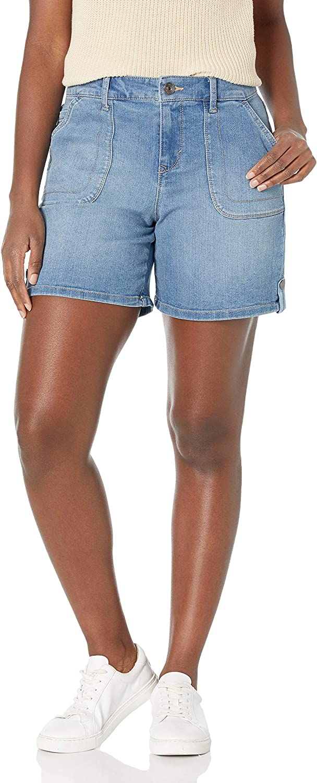 Gloria Vanderbilt Women's Spring new work Trendy Utility Thigh 2021 Short 6