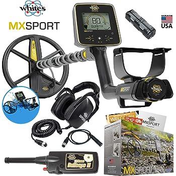 MX Sport Whites Waterproof Detector Summer Bundle w/Bullseye II Pinpointer