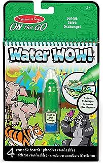 Melissa & Doug Water Wow - podkładka ujawniająca wodę do dżungli | podkładka do aktywności | podróż | 3+ | prezent dla chł...