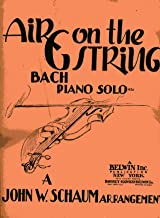 Air on the G String - Bach Piano Solo
