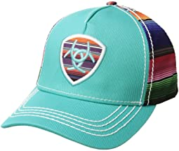 Ariat - Serape Logo Shield Ball Cap