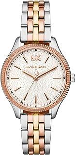 Michael Kors Lexington Women's White Dial Stainless Steel Analog Watch - MK6642