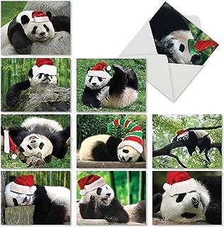 panda holiday cards