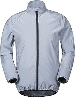 Mountain Warehouse 360 Reflective Mens Cycling Jacket - High Vis
