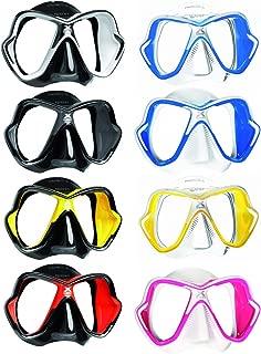 Mares X-Vision Liquid Skin Dive Mask, Blue/White