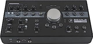 Mackie Big Knob Series, 4x3 Studio Monitor Controller 192kHz USB I/O (BIG KNOB STUDIO PLUS)
