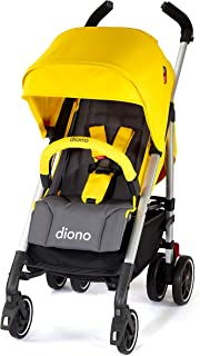 Diono Flexa - City Ready Umbrella Stroller, Yellow Sulphur