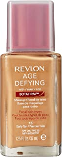 Revlon Age Defying Makeup with Botafirm, SPF 20, Normal/Combination Skin, Early Tan 15, 1.25 Ounce