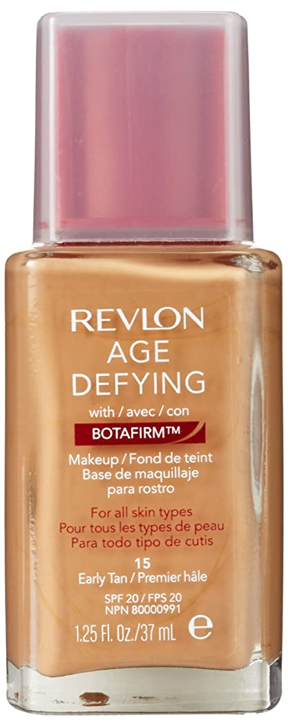 消費既に宿題をするREVLON AGE DEFYING MAKEUP WITH BOTAFIRM #15 EARLY TAN