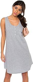 US Polo Assn. Womens Pajamas Dormshirt Comfortable...