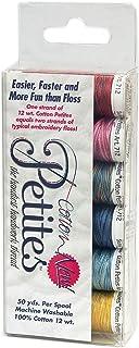 Sulky Sampler 12wt Cotton Petites, Most Popular Blendables Assortment, 6-Pack