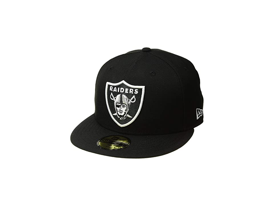 New Era 59FIFTY(r) Oakland Raiders (Black) Baseball Caps