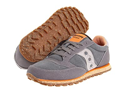 Saucony Originals Jazz Low Pro Vegan (Charcoal/Orange) Men