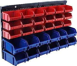 STEEL CORE 42703 30 Bin Wall Mount Parts Rack