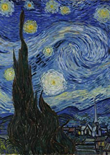 Toland Home Garden Van Gogh's Starry Night 28 x 40 Inch Decorative Sky Star Classic Painting House Flag