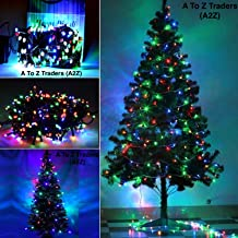 A2Z Christmas Tree with Multicolor LED Lights for Home Decoration (6Feet)