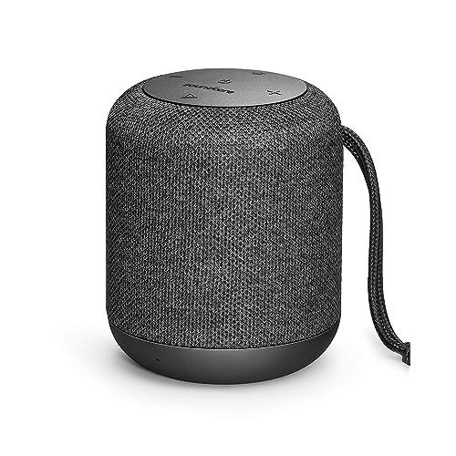 Enceinte Soundcore Motion Q par Anker - Enceinte Bluetooth 4.2 16W avec Son 360°, Wireless Stereo Pairing, Technologie BassUp et Étanchéité IPX7 pour Soirées et Activités extérieures.