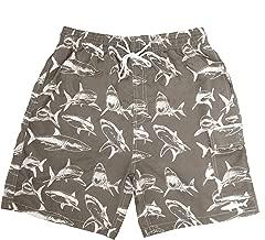 UZZI Kids Swim Shorts Fast Dry Shark Print
