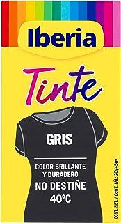 Iberia - Tinte Gris para ropa, 40°C