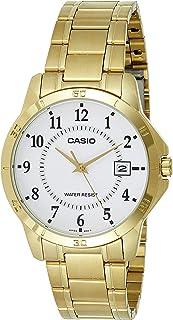 ساعة كاسيو للرجال MTP-V004G-7B - انالوج، كاجوال