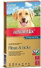 Advantix for Dogs over 25kg, 6 Pack
