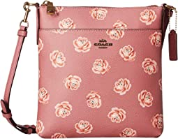 Messenger Crossbody in Floral Print