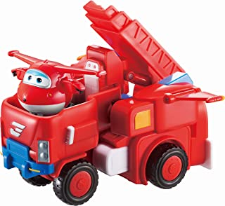 Super Wings - Jett's Robo Rig, Transforming Toy Vehicle Set, Includes Transform-A-Bot Jett Figure, 2