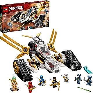 LEGO NINJAGO Legacy Ultra Sonic Raider 71739 Building Kit...