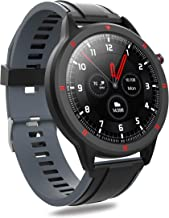 AQFIT W15 Fitness Smartwatch Activity Tracker| Waterproof | 4.2 Bluetooth | Metal Case | Full Touch Screen Display | for M...