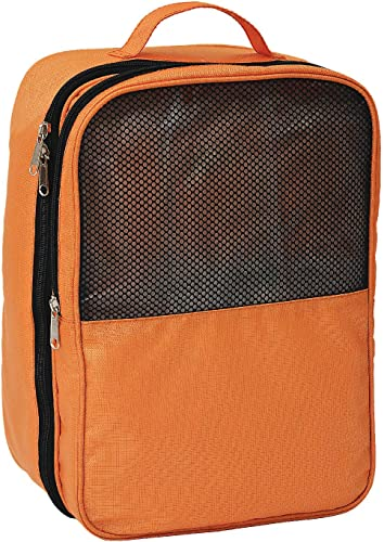 Shoe Bag For Gym Travel Packing Footwear And Slippers Cover and Storage Orange