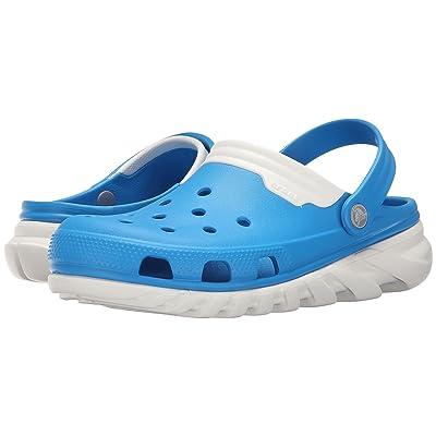 Crocs Duet Max Clog (Ocean/White) Clog Shoes