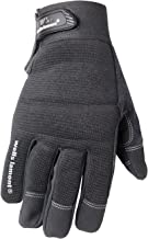 Wells LamontSynthetic Leather Work Gloves with Touch Screen Capability, High Dexterity, Large (7706L)