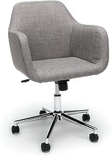 Sensational Amazon Com Grey Home Office Desk Chairs Home Office Creativecarmelina Interior Chair Design Creativecarmelinacom