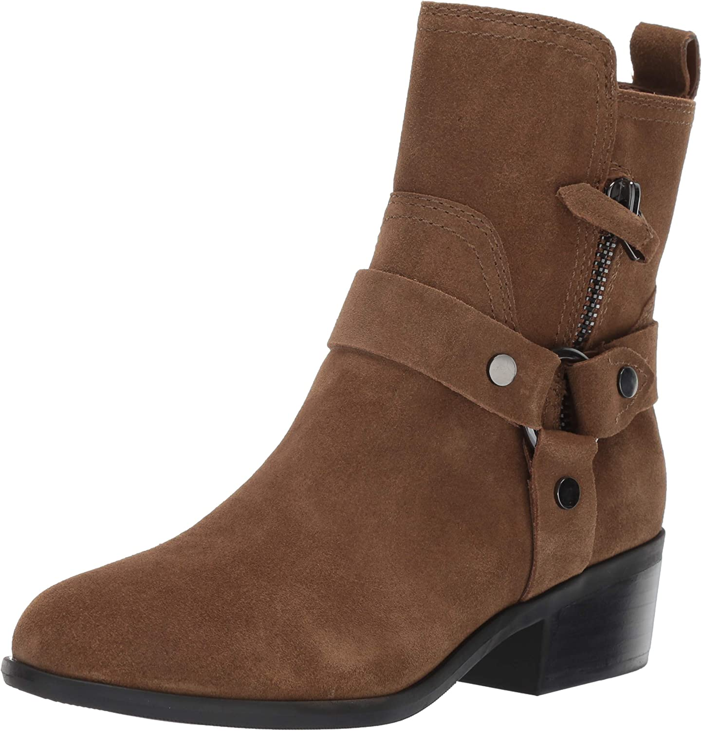 Marc Fisher Womens Dalary Motorcycle Boot