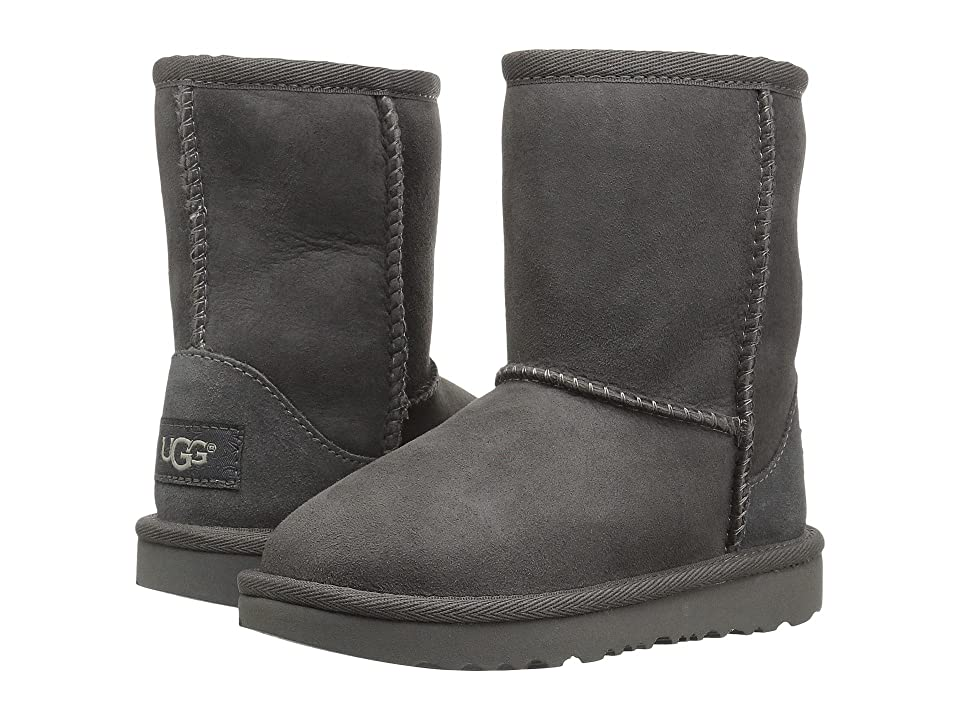 UGG Kids Classic II (Toddler/Little Kid) (Grey) Kids Shoes